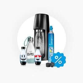 SodaStream Spirit met 4 extra flesjes