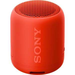 Sony SRS-XB12 Extra Bass bluetooth speaker rood @ OTTO