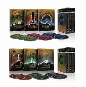 The Lord of the Rings / The Hobbit Trilogy - Limited Edition 4K Ultra HD Steelbook