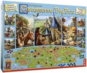 Carcassonne big box 25% korting