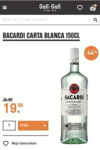 Bacardi gall&gall 1,5l