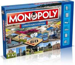 Monopoly Christchurch editie bordspel @Amazon UK