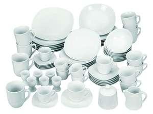 Wellco 62-delig porseleinen servies (2 soorten) afgeprijsd naar €59,99 @ Lidl-shop
