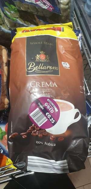 1.2 kilo koffiebonen voor 25 cent (Lokaal)