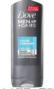 Dove Men+Care Clean Comfort Shower Gel, 6 x 250 ml