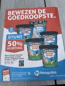 Ben & Jerry's 50% korting @ Hoogvliet
