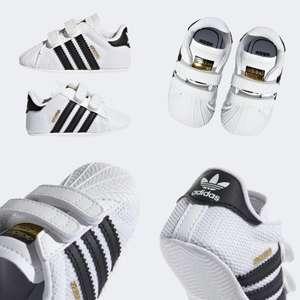 adidas Superstar baby schoentjes + code 25% korting