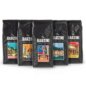 Proefpakket espressobonen (5x 500g) van €41,50 voor €20 + gratis verzending @ CoffeeMeister