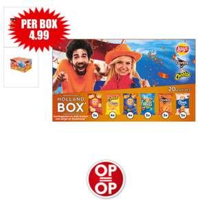 Lays Feestbox 20 minizakjes chips voor €4,99 bij Dirk