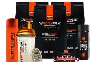 Tot 77% korting op sportvoeding @ The Protein Works