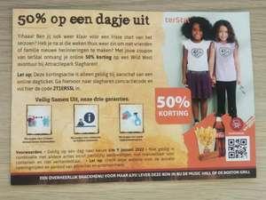 50% op online dagticket attractiepark Slagharen