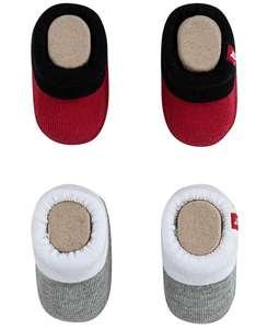Levi's 2-pack baby booties voor €6,20 @ Amazon.nl