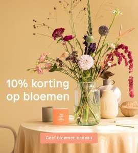 10% korting op losse boeketten bij Bloomon (ook voor bestaande klanten)