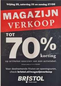 Magazijn Uitverkoop tot 70%* korting