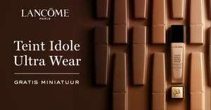Gratis sample Lancôme Teint Idole Ultra Wear foundation