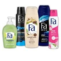 Fa deodorant, douchegel of handzeep voor € 0,99 bij de Dirk!