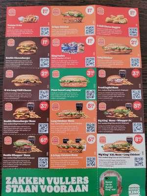 Burger King kortingsbonnen