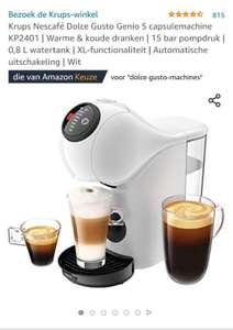 [prime, amazon.de] Krups Nescafé® Dolce Gusto® GENIO S Basic KP2401 - Koffiecupmachine - Wit