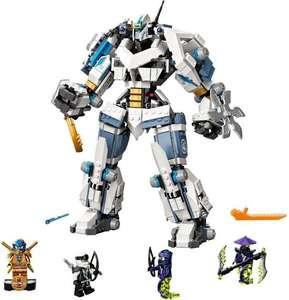 LEGO NINJAGO Legacy Zane's Titanium Mecha Duel - 71738