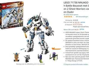 (PRIME) LEGO 71738 NINJAGO