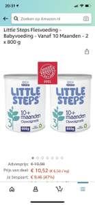 """Nestlé """"Little steps"""" Flesvoeding nummer 3 (10 maand+): Bijna 2 blikken voor de prijs van 1 blik"""