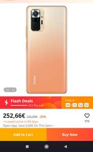 Xiaomi note 10 pro fan edition EU versie