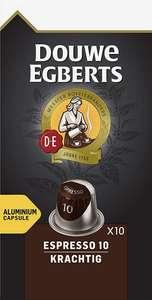 100 Douwe Egberts Coffee Nespresso Cups Intensity 10/12 voor €9,99
