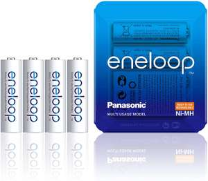 (Prime) Eneloop AA batterijen (4 stuks).