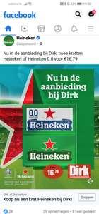 Heineken 2 halen 1 betalen