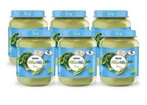 [Prime deal] 6 potjes NaturNes Bio Broccoli Doperwten Kalkoen - babyvoeding