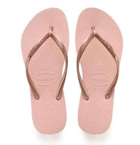 Havaianas Slim Dames Slippers - Ballet Rose - Maat 37/38