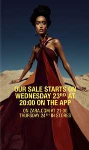 Zara Summer Sale 2021
