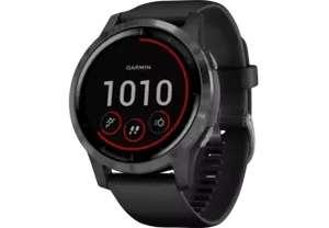 GARMIN Vivoactive 4 Zwart/RVS smartwatch