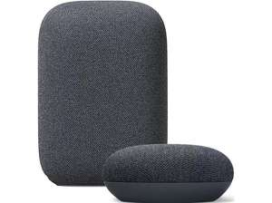 Google Nest Audio + Google Nest Mini Charcoal