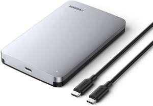 UGREEN harde schijf behuizing 2.5 inch SATA USB C voor €16,99 @ Amazon NL