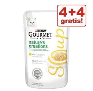 4+4 gratis! Gourmet soup in 4 smaken + 5% kassakorting