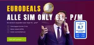 Youfone Sim Only - eerste 3 of 6 maanden voor €1,-!