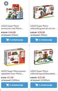 25% korting op Mario Lego