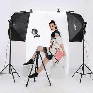 Andoer Studio fotografie Softbox LED Light Kit voor €62,15 - verz. uit DE @ Tomtop