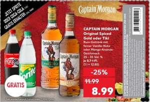 Captain Morgan Tiki + gratis 1 liter fles Coca Cola / Sprite @ Kaufland DE (Grensdeal)
