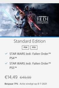 [Ps5/ps4] Star Wars Jedi: Fallen Order (PSN)