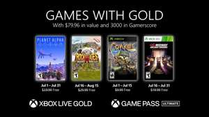 Games with Gold - juli 2021 @ Xbox Store