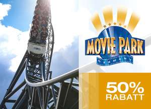 Movie Park Germany met 50% korting