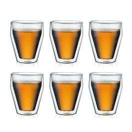 Set van 6 dubbelwandige Titlis glazen 0.25L voor €23,35 @ Bodum