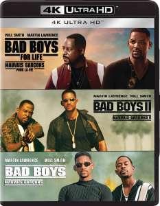 Bad Boys Trilogie (4K Blu-ray Disc)