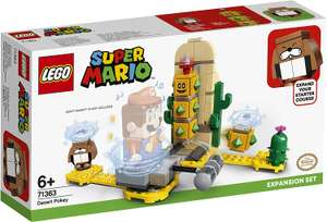 LEGO 71363 Super Mario Uitbreidingsset: Desert Pokey en andere Mario Lego aanbiedingen @Amazon.nl