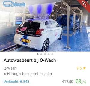 Qwash voucher Den Bosch/Rosmalen