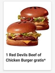 [BELGIE] gratis devils burger in de McDonald's app