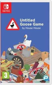 Untitled Goose Game voor Nintendo Switch, fysieke versie.