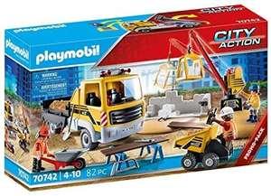 Playmobil Truck op bouwplaats
